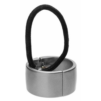 France Luxe Belle Elodie Cuff Ponytail Holder - Gloss Slate