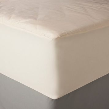 AllerEase Organic Cotton Cover Allergy Protection Waterproof Mattress Pad -
