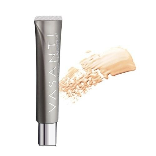 Oil-Free Foundation & Concealer in 1 (V1) by VASANTI - Liquid Cover-Up - Get Incredible Coverage with Featherlight Finish Now!