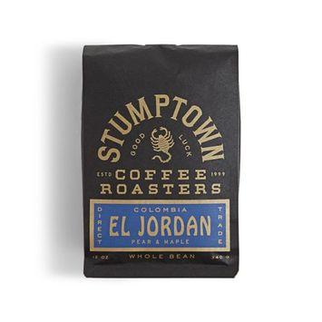 STUMPTOWN Coffee Roasters - COLOMBIA EL JORDAN -Whole Bean - Direct Trade, 12 oz Roasted in Small Batch in Los Angeles, California