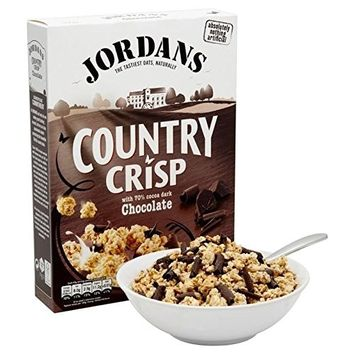 Jordans Dark Chocolate Country Crisp Cereal 500g - Pack of 2