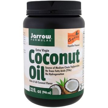 Jarrow Formulas, Organic Extra Virgin Coconut Oil, Expeller Pressed, 32 fl oz