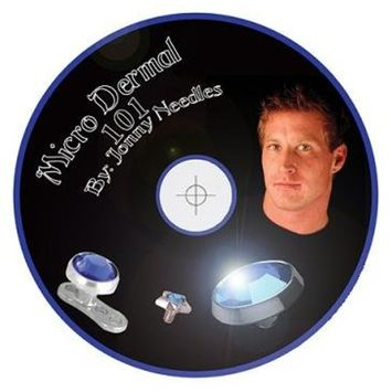 Micro Dermal DVD - Basics of Micro Dermal Punch and Piercing Needle Method PLUS MORE by Jonny Needles