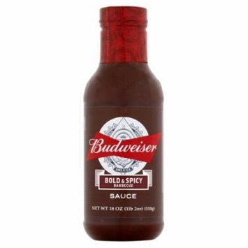 Budweiser Sauce Bbq Bold Spicy,18 Oz (Pack Of 6)
