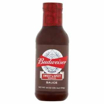 Budweiser Sauce Bbq Swt Spicy,18 Oz (Pack Of 6)