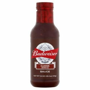 Budweiser Sauce Bbq Classic,18 Oz (Pack Of 6)