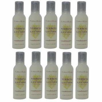 Crabtree & Evelyn Verbena & Lavender Conditioner 10 ea 0.8oz Bottles. Total of 8oz