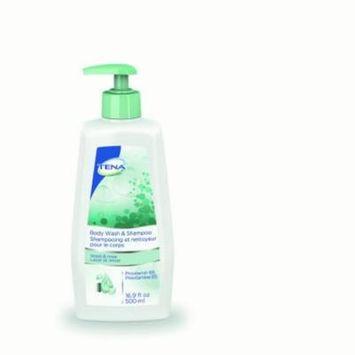 TENA Body Wash & Shampoo Scented 16.9 fl. Oz. 10/Case