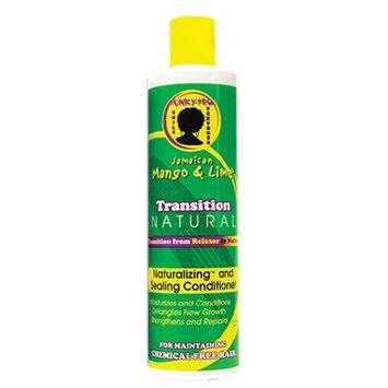 Jamaican Mango & Lime Transition Natural Naturalizing and Sealing Conditioner, 10 Ounce