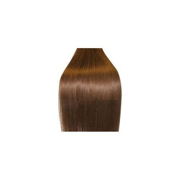 Supermodel - 20 Inch Medium Brown (Col 6).Full Head Human Hair Weave For Sew In Or Glue