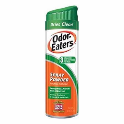 2 Pack Odor Eaters Foot Sneaker Spray Powder 4oz Each