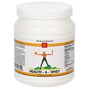 Bernard Jensen Products HealthAWhey
