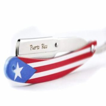 MD Flag Razor (TEXAS), Image Infused - Won't Rub Off or Fade By MD Barber