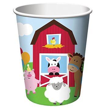 Creative Converting Farmhouse Fun 9oz Cups (8ct)