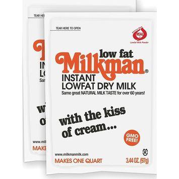 Milkman Instant Low Fat Dry Powdered Milk - 2 Quarts (6.88 Oz) GMO Fre