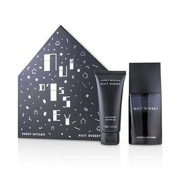 Nuit D'Issey Coffret: Eau De Toilette Spray 75ml/2.5oz + Shower Gel 100ml/3.3oz 2pcs