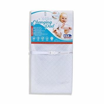 LA Baby Waterproof 4 Sided Changing Pad, 32