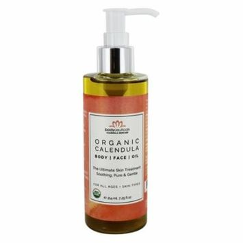 Organic Calendula Body and Face Oil - 7.25 fl. oz. by Bodyceuticals (pack of 1)