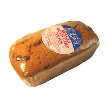 Russian Loaf Raisin Cake Keks 22 oz (Pack of 2). Includes Our Exclusive HolanDeli Chocolate Mints.