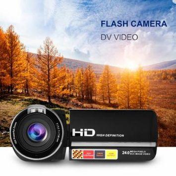 5.0M HD CMOS Sensor 3.0 inch TFT Flash Digital Camera 24.0 MP FHD LCD Rotation Screen Camcorder Video Camera Full Hd 1080p With 16X Digital Zoom