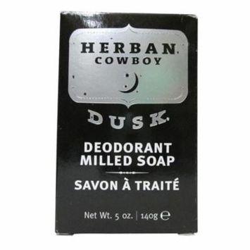 NEW Herban Cowboy Dusk Deoderant Milled Bar Soap, 5 Ounce