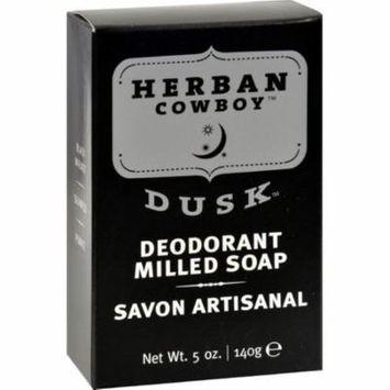 Herban Cowboy Milled Bar Soap Dusk - 5 Oz 2 Pack