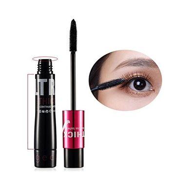 Kanzd Fiber Mascara Long Lasting Black Eye Lash Eyelash Extension Waterproof Eye Makeup Tool Full Mascaras