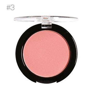 DZT1968 MARIA AYORA Porbable Repair Powder Block Blush Exquisite Natural Rosy Gloss Fine Outline (C)