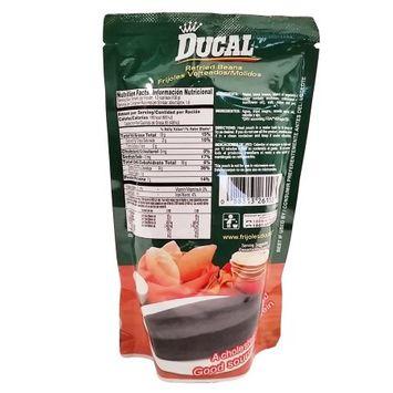 Ducal Refried Black Beans 8 oz - Frijoles Negros Refritos