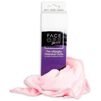 FACE OFF Jr. Cloth - Natural, Reusable, Portable Chemical Free Cleansing Cloth to use with Just Water