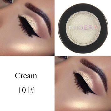 YJYdada PHOERA Glitter Shimmering Colors Eyeshadow Metallic Eye Cosmetic