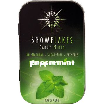 Snowflakes Candy Mints Sugar Free Peppermint -- 1.76 oz