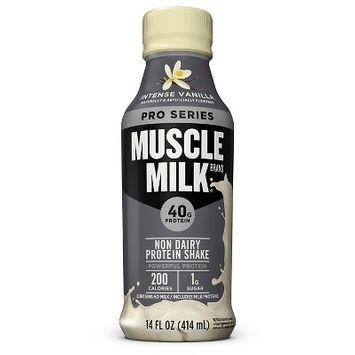 Cytosport - Muscle Milk Pro Series 40 RTD Mega Protein Shake Intense Vanilla - 14 oz.