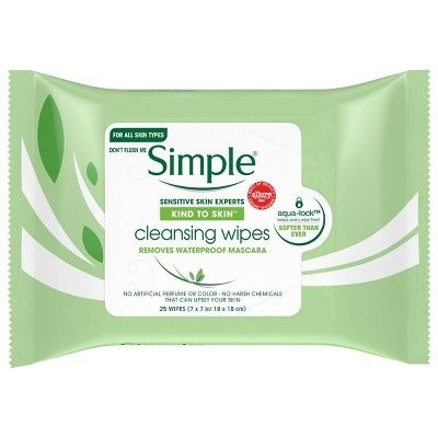 Simple® Cleansing Facial Wipes