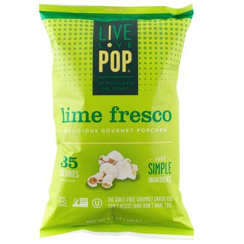 Live Love Pop Zesty Lime Popcorn