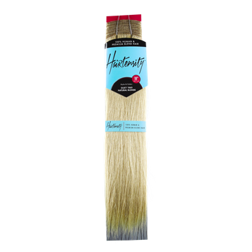 Hairtensity 100% Human & Premium Blend Hair 18