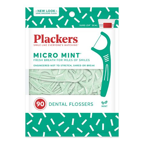 Plackers Micro Mint Flossers for Dental Professionals