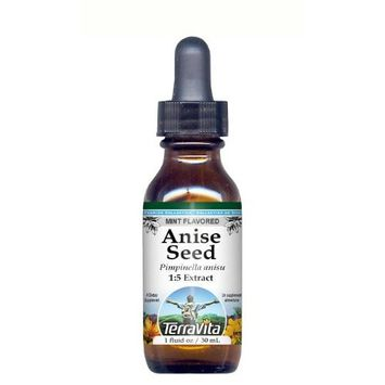 Anise Seed - Glycerite Liquid Extract (1:5) - Mint Flavored (1 fl oz, ZIN: 428294)