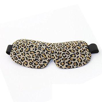 Sleep Masks, FTXJ 3D Eye Mask Shade Cover Rest Sleep Eyepatch Blindfold Shield Travel Sleeping Ai (Multicolor A, 23cm x 8.5cm)