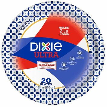 Dixie Ultra Paper Plates, 10 1/16