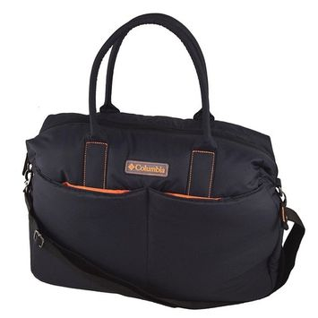 Columbia Evergreen Puff Weekender, Baby Diaper Bag, Black