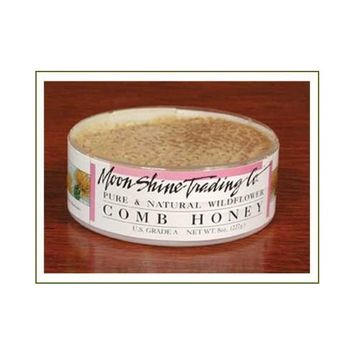 Comb Honey Wildflower (8oz) Round - 1 Round