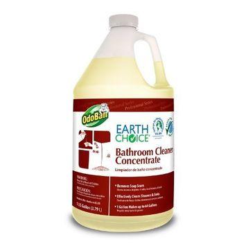 Earth Choice 9355B62-G4 Bathroom Cleaner, 1 Gallon Bottle