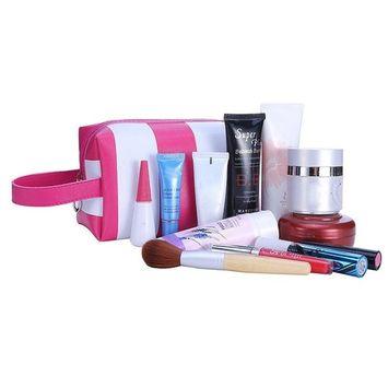 DEESEE(TM) Portable Girl Multifunction Makeup brush holder Bag Pouch Tassel Handbag