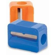 Baumgartens Mr3380 Single Pencil Sharpener - 1 Hole[s] - Plastic - Assorted