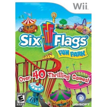 Brash six flags fun park - nintendo wii