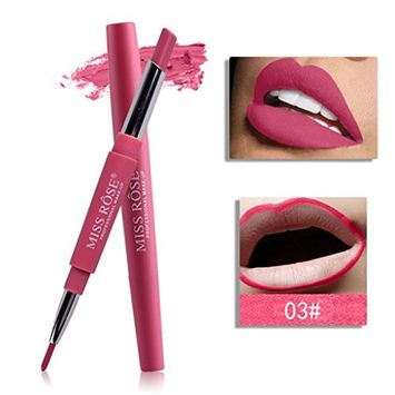 JUA PORROR Pencil Lipstick -Waterproof Pens Matte Lip Liner- Long Lasting Makeup Tool 8 Color For Woman Gift