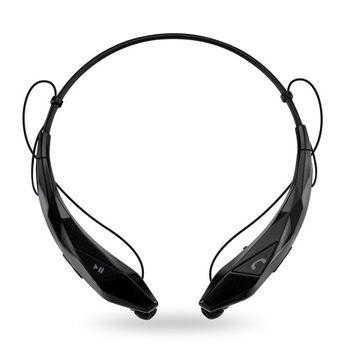 Oct17 Wireless Running Sports Bluetooth Headphones Headset Stereo Earphone[Black]
