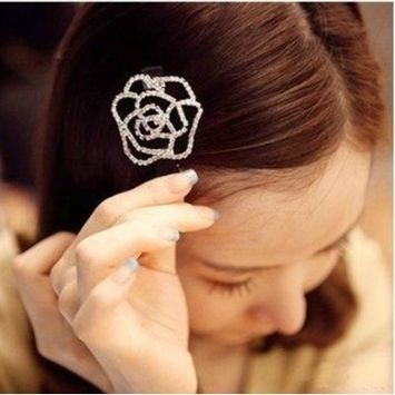 Beautiful Jewelry Flowers Hair Clips- For Hair Clip Hairpins Beauty Tools by Jolin