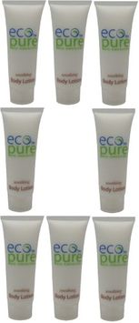 Eco Pure Soothing Body Lotion Lot of 8 each 1oz Bottles. oz (Pack of 8)